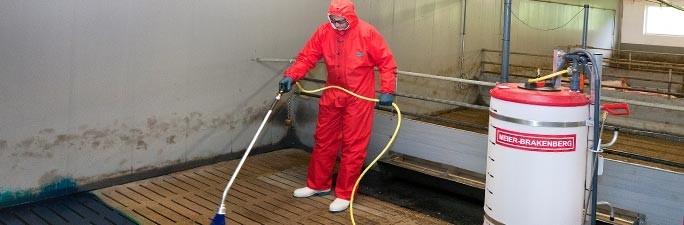 Desinfektion / Stallhygiene