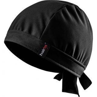 Hairtex Stallmütze mit Bändern - schwarz #1