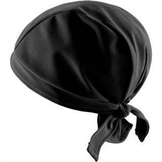 Hairtex Stallmütze mit Bändern - schwarz #2