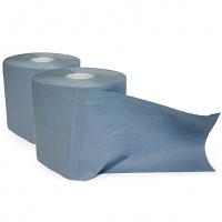 Putzpapierrolle Mini blau - Doppelpack (2 Stck)