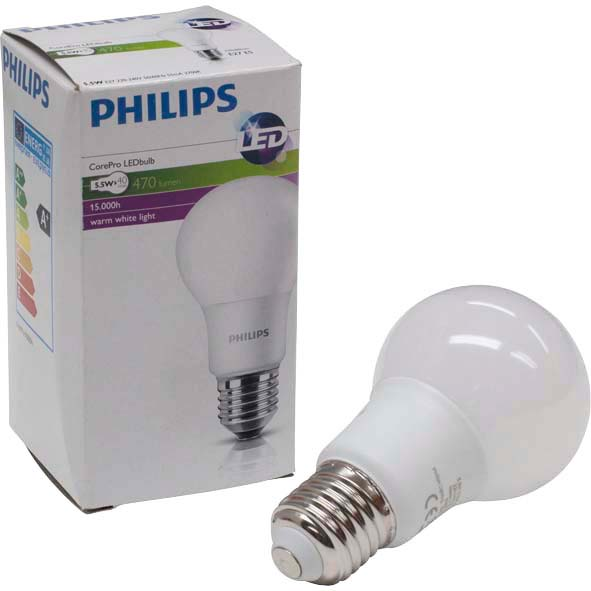 Philips LED Lampe 5,5 Watt E27 im Farmshop